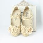 รองเท้าโบว์ดอกไม้-สีทอง-ไซส์-26-30-(5-คู่/แพ็ค)
