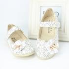 รองเท้าโบว์ดอกไม้-สีเงิน-ไซส์-26-30-(5-คู่/แพ็ค)