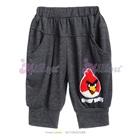 กางเกงสามส่วน-Angry-Bird-สีเทา--(6size/pack)