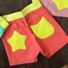 กางเกงขาสั้น-กระเป๋าดาว-สีส้ม-(5-ตัว/pack)