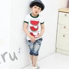 เสื้อยืด-Watermelon-สีขาว-(5size/pack)