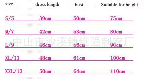 ชุดเดรสโปโล polo Sport Girl สีชมพู (5 ตัว/pack)