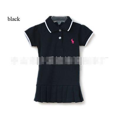 ชุดเดรสโปโล polo Sport Girl สีดำ(5 ตัว/pack)