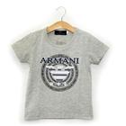 เสื้อยืดแขนสั้น-ARMANI-สีเทา-(5-ตัว/pack)
