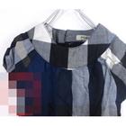 ชุดเดรสแขนสั้น-Burberry-สีน้ำเงิน-(5-ตัว/pack)