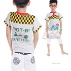 เสื้อยืดแขนสั้น-Hot-B-สีเทา-(5size/pack)