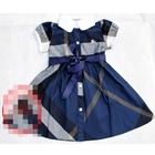 เดรสแขนตุ๊กตา-Burberry-สีน้ำเงิน-(5-ตัว/pack)