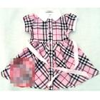 เดรสแขนตุ๊กตา-Burberry-สีชมพู-(5-ตัว/pack)