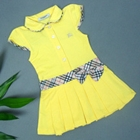 เดรสแขนสั้นโปโล-Burberry-สีเหลือง-(5-ตัว/pack)