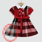 เดรสแขนสั้นตุ๊กตา-burberry-สีแดง-(5-ตัว/pack)
