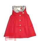 เดรสคุณหนู-burberry-สีแดง-(5-ตัว/pack)