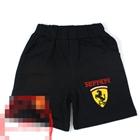 กางเกงขาสั้น-Ferrari-สีดำ-(5-ตัว/pack)