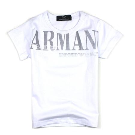 เสื้อยืดแขนสั้น ARMANI สีขาว (5 ตัว/pack)