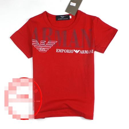 เสื้อยืดแขนสั้น ARMANI สีแดง (5 ตัว/pack)