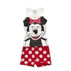 ชุดเสื้อและกางเกง-Minnie-Mouse-สีขาว-(5-ตัว/pack)