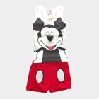 ชุดเสื้อและกางเกง-Micky-Mouse-สีขาว-(5-ตัว/pack)