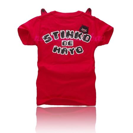 เสื้อยืดแขนสั้น Seiko สีแดง (5 ตัว/pack)
