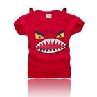 เสื้อยืดแขนสั้น-Seiko-สีแดง-(5-ตัว/pack)