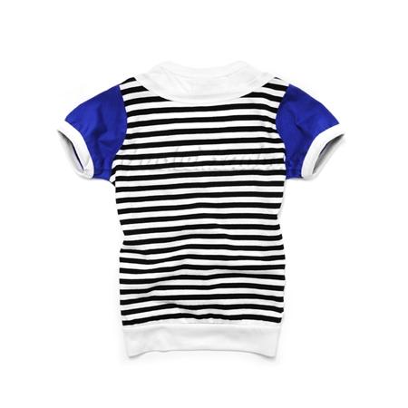เสื้อยืดแขนสั้น Seiko car สีน้ำเงิน (5 ตัว/pack)