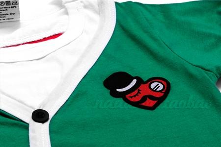 เสื้อยืดแขนสั้น Seiko car สีเขียว (5 ตัว/pack)