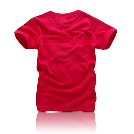 เสื้อยืดแขนสั้นลายโดเรม่อน สีแดง (5 ตัว/pack)