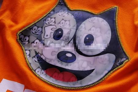 เสื้อยืดแขนสั้นลายแมว Felex สีขาว (5 ตัว/pack)