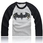เสื้อยืดแขนยาวลาย-Batman-แขนสีดำ-(5-ตัว/pack)