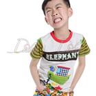 เสื้อยืดแขนสั้น-Elephant-สีเทา-(5size/pack)