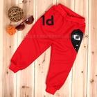 กางเกงขายาว-Play-สีแดง-(5-ตัว/pack)
