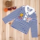เสื้อแขนยาว-Happy-Smile-สีน้ำเงิน-(5-ตัว/pack)