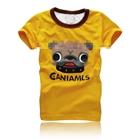 เสื้อยืดแขนสั้น-CANIAMLS-สีเหลือง-(5-ตัว/pack)