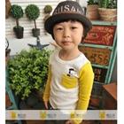 เสื้อแขนยาว-Snoopy-แขนสีเหลือง-(5-ตัว/pack)