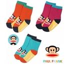 ถุงเท้าเด็กลาย-Paul-Frank-คละ-3-แบบ-(20-คู่-/pack)