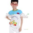 เสื้อยืดแขนสั้นมิตรภาพ-สีเทา-(5size/pack)