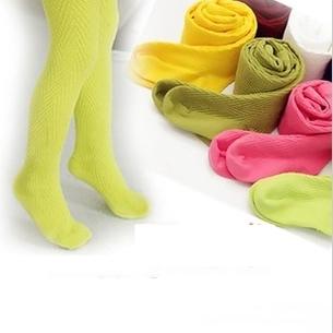 ถุงขาเด็ก คละสีสดใส (10 คู่ /pack)