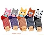 ถุงเท้าเด็กลายสัตว์ต่างๆ-คละสีคละแบบ(20-คู่-/pack)
