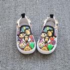 รองเท้าเด็กลายการ์ตูนสีสดใส--(7-คู่/แพ็ค)