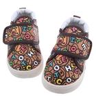 รองเท้าเด็ก-Alphabet-สีน้ำตาล--(5-คู่/แพ็ค)