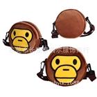 กระเป๋าสะพายลิง-Bape-Kids-สีน้ำตาล-(5-ใบ/pack)