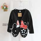 เสื้อคลุมเด็กแขนยาว-Hello-Kitty-สีดำ-(5-ตัว/pack)