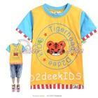 เสื้อยืดแขนสั้น-The-Tiger-สีเหลือง-(5size/pack)