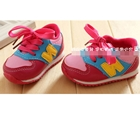 รองเท้าผ้าใบ-N-สีชมพู-(4-คู่/แพ็ค)