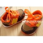 รองเท้าผ้าใบ-N-สีส้ม-(4-คู่/แพ็ค)