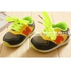 รองเท้าผ้าใบ-N-สีเหลือง-(4-คู่/แพ็ค)