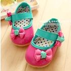 รองเท้าเด็กโบว์เก๋ๆ-สีชมพู-(5-คู่/แพ็ค)