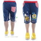 กางเกงขาสามส่วน-The-Lion-สีน้ำเงิน-(5size/pack)