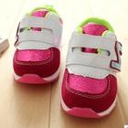 รองเท้าผ้าใบ-N-สีชมพูขาว-(5-คู่/แพ็ค)