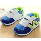 รองเท้าผ้าใบ-N-สีน้ำเงินขาว-(5-คู่/แพ็ค)