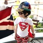 เสื้อแขนสั้น-Superman-สีแดง-(6-ตัว/pack)