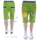 กางเกงขาสามส่วน-Clever-Lion-สีเขียว-(5size/pack)